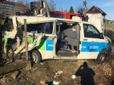 Příbramský soud řeší loňskou tragickou nehodu v Čenkově. Řidiči sanitky hrozí šest let vězení