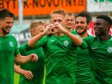 Příbram na úvod nadstavby porazila Olomouc 2:0 a je předposlední