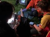 Vodní záchranná služba v noci úspěšně resuscitovala muže