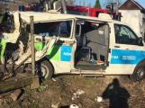 Soud uložil podmínku řidiči sanitky za nehodu v Čenkově