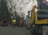 V Husově ulici se srazily dva vozy