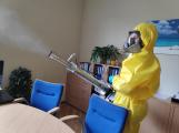 V souvislosti s výskytem COVID-19 realizujeme plošné dezinfekce interiérů a budov