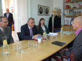 Prezident Hospodářské komory Vladimír Dlouhý navštívil Příbramsko