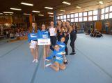 Příbramské gymnastky jsou první v republice
