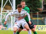 Fotbalisté Příbrami prohráli s Olomoucí 0:2 a zůstali v lize poslední