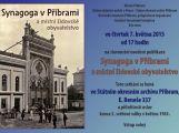 Vychází kniha o příbramské synagoze, stojí 75 Kč
