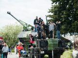 Stovky lidí si u Památníku Vítězství připomněly poslední bitvu 2. světové války