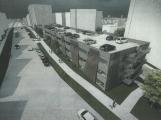 Příbram chystá stavbu parkovacího domu pro 228 aut v Milínské ulici