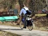 Příbram osadí po městě 300 stojanů na kola s jednotným designem
