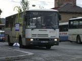 Na Plzeňsku shořel bus, který vezl školáky, nikomu se nic nestalo