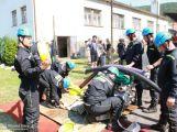 Dobrovolní hasiči se utkali o Čenkovský cvoček (VIDEO)
