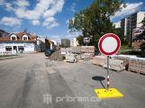 Od včerejška jsou uzavřeny ulice Jáchymovská a Gen. Kholla
