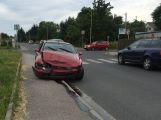 Nehoda ve Zdabořské, projíždějte opatrně (VIDEO)