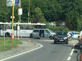 Doprava v Příbrami kolabuje kvůli něhodě u Obory