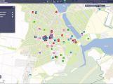 Město Dobříš vydalo interaktivní mapu města
