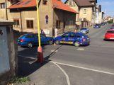 Nehoda v Riegrově ulici, s opatrností projedete