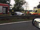 Nehoda komplikuje výjezd z Prahy ve směru na Strakonice