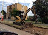 Ve Školní ulici se již pracuje, parkovací místa budou hotová do konce prázdnin