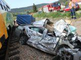 Policisté řešili dvě vážné dopravní nehody