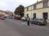 Pozor na Dobříši, dopravu ve městě komplikuje nehoda