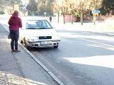 V Březnici se srazily dva vozy, nikomu se nic nestalo
