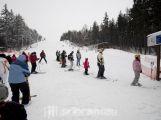 Monínec v sobotu přivítal přes tisíc lyžařů