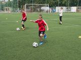 Na Spartaku trénují mladí fotbalisté, mají svůj letní kemp
