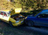 U Bratkovic se srazila dvě auta, nikdo nebyl zraněn