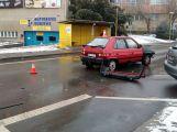 Dva vozy se srazily v Seifertově ulici