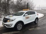 Problémy na zimních cestách? Pomůže nehodové centrum