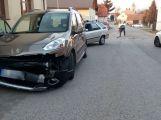 Dva vozy se srazily v Rosovicích