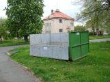 Od pátku můžete využít velké kontejnery na bioodpad