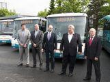 Na Příbramsku jezdí 17 nových autobusů, i díky podpoře evropských peněz