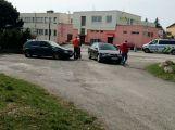 Lehká nehoda v Kozárovicích