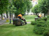 Příbram začíná sekat zelené plochy ve městě