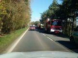 Na silnici 66 mezi Příbramí a Milínem je hlášena nehoda se zraněním