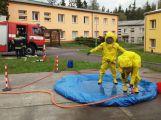 Studenti z Dubna se zúčastnili hasičského výcviku