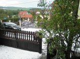 Kroupy páchaly škody zejména na Berounsku a Příbramsku