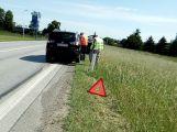Přes Dubenec opatrně, došlo zde k drobné dopravní nehodě