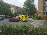 Jela rodit do nemocnice, po cestě do nich narazilo auto