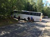 JIŽ OTEVŘENO: Husova ulice byla uzavřena, blokoval jí uvízlý autobus.