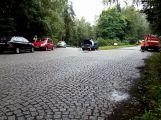 U Dolní Líšnice se srazily dva vozy