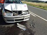 Další nehoda u Chraštic. Srazila se zde 3 auta