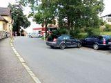 V Mixově ulici se srazily dva vozy