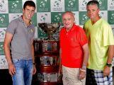 Davis cup v Březnici si prohlédly stovky lidí
