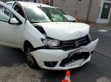 Provoz na Rynečku je kvůli nehodě řízen kyvadlově