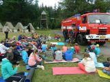 Letní dětský tábor byl ve znamení agentů