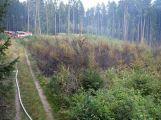 U Kozárovic na Příbramsku hořelo v lesní školce