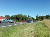 U Višňové se srazila 3 auta, silnice je uzavřena