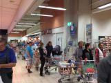 Kaufland je částečně uzavřený, nefunguje systém akčního zboží